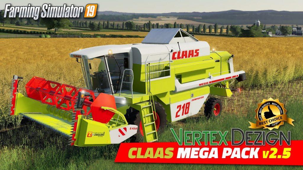 Claas Mega Pack