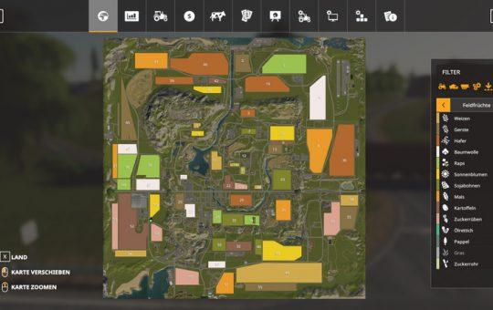Autodrive Kurse für die Valley Crest Farm 4fach Version 1.4.5.1