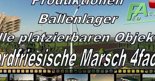 Alle Produktionen für die NF Marsch 4fach v3.2