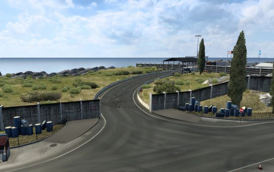 Lebanon – Israel Open Border with Bumps for 1.40.x ETS2