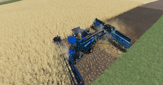 New Holland CR1090 Maxi 2in1