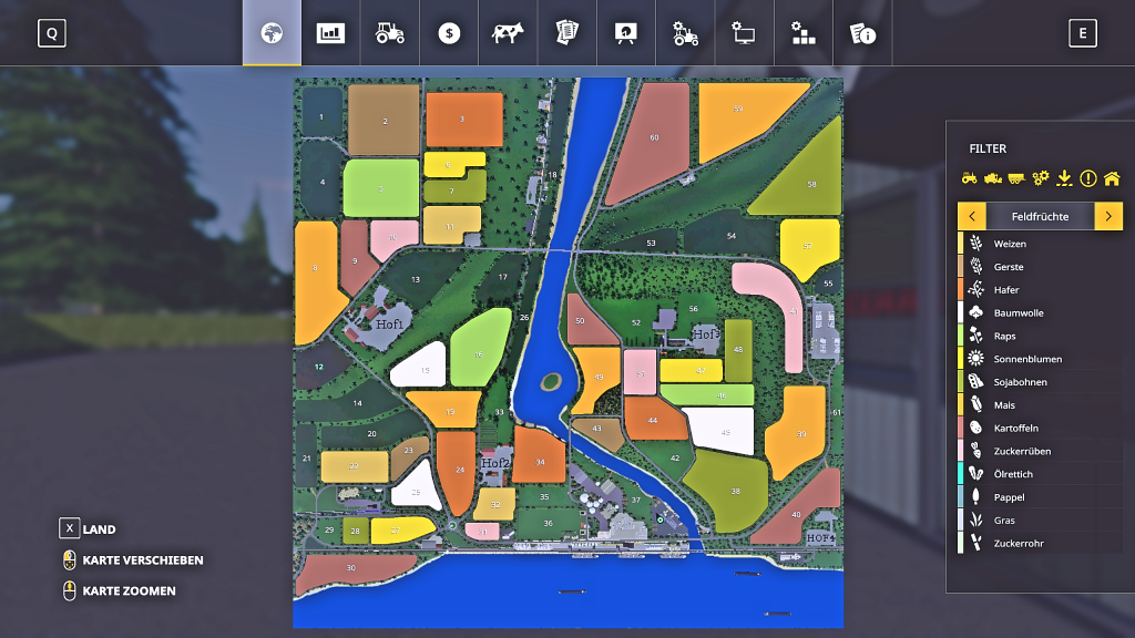 AutoDrive für German Coast Karte