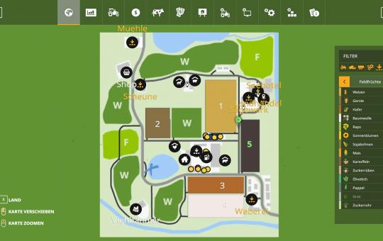 AutoDrive für Kleines Land Karte