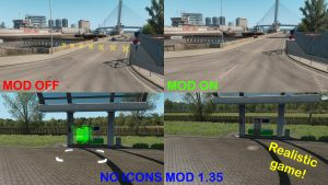 NO ICONS MOD (REALISTIC GAME) 1.35.x & DX11 READY