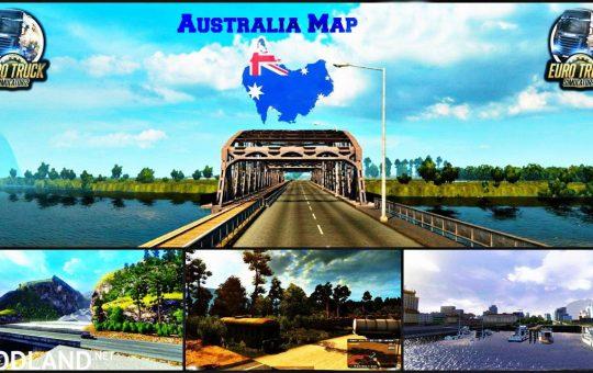 Australia (Tasmania) Map v5.3 -fixed- 1.36.x