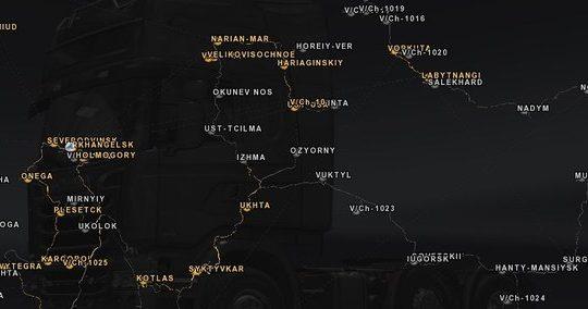 Englische Stadtnamen für ROS 6.0