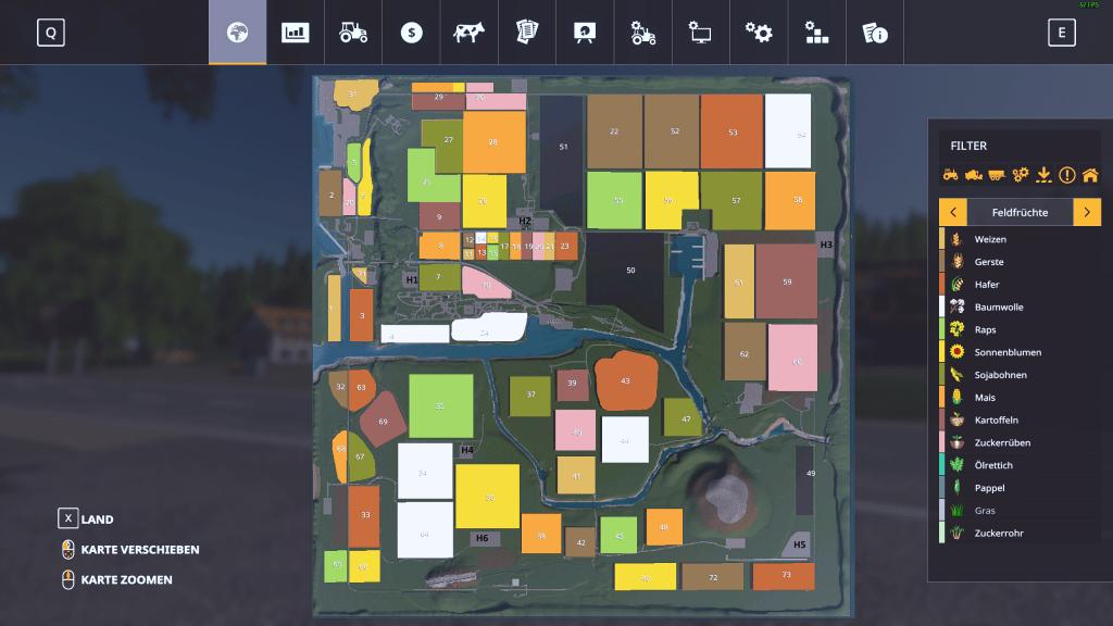 AutoDrive für Falkenhausen Karte