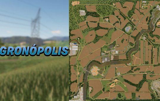 Agronópolis Map v1.0 FS19